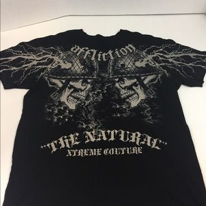 9cf2f0de Affliction Shirts | Mens Sz Xl Shirt Hooded Henley Nwt | Poshmark